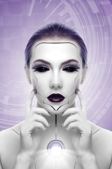 Robot woman.